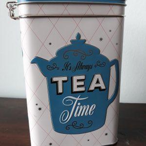 Voorraadblik Tea clip top box