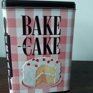 bewaarblik bake a cake
