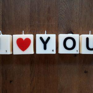I LOVE YOU – Letterkaarsjes