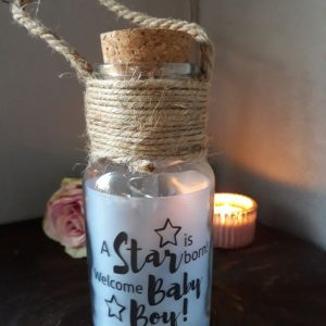 A STAR IS BORN WELCOME BABY BOY – Big Star Light
