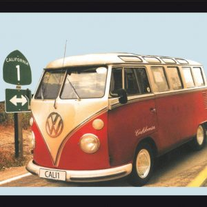 VW Bulli California T1 – Decoratieve spiegel
