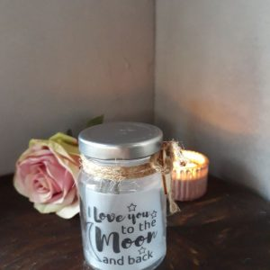 I LOVE YOU TO THE MOON AND BACK – Sterlichtje