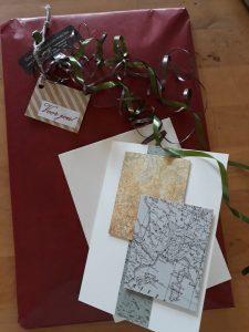cadeautje in papier