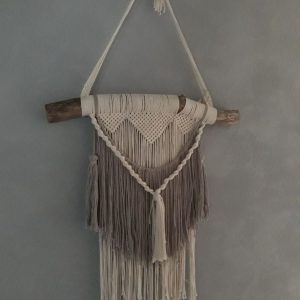 Macramé – Wandhanger – Multi-kleur – Handgemaakt