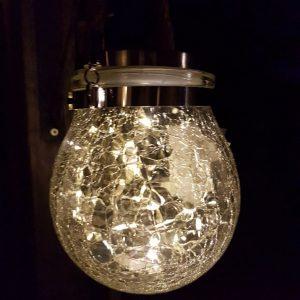 Solar Buitenlamp – Lamp op zonne-energie van glas – Countryfield