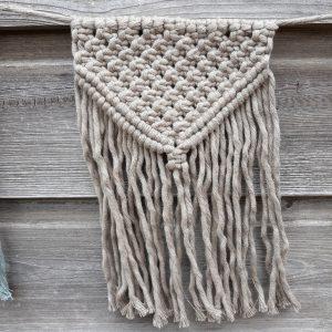 Macramé – Vlaggenlijn – Stoer – Handgemaakt