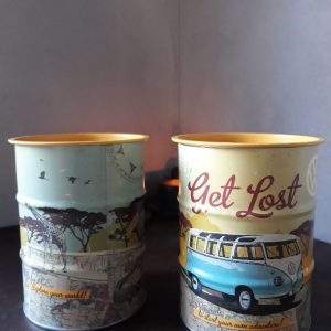 Spaarpot – VW Bulli let's get lost – Money box oil barrel