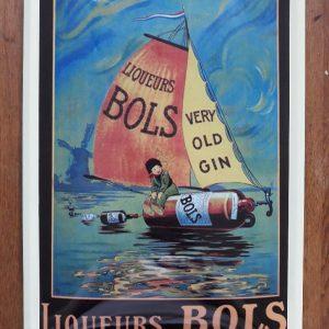Metalen wandbord - BOLS Liqueurs - Very Old Gin - Amsterdam