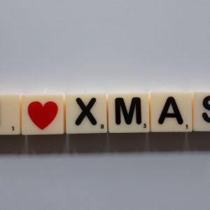 letterkaarsjes woord xmas