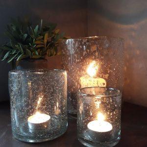 Sfeerlicht van glas 10cm – Brynxz