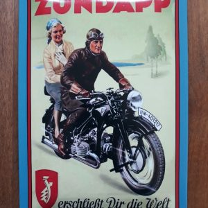 ZÜNDAPP - Klassiek metaal wandbord