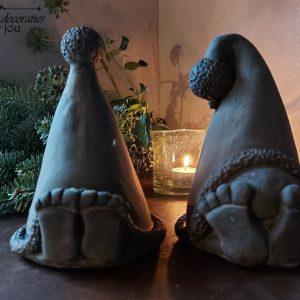 Kerst Gnome – Kerstkabouter – Brynxz – Set van twee