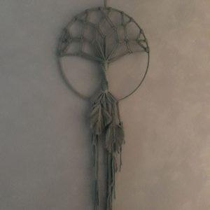 Levensboom – Dromenvanger – Macramé – Handgemaakt