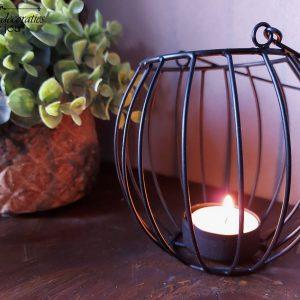 Theelichthouder lantaarn – Metaal – Kolony