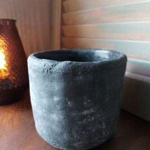 Bloempot aardewerk betonlook – Marvin 10,5 cm – Countryfield