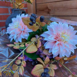 Herfstboeket kunstbloemen – Brynxz